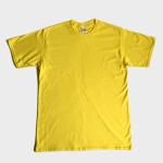 เสื้อยืดเปล่า GILDAN (สีเหลือง)